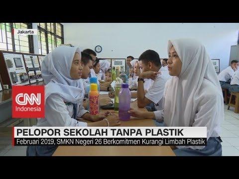 Pelopor Sekolah Tanpa Plastik