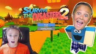 ROBLOX Überlebe die Katastrophen!!!