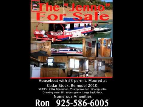 trinity-lake-houseboat-for-sale