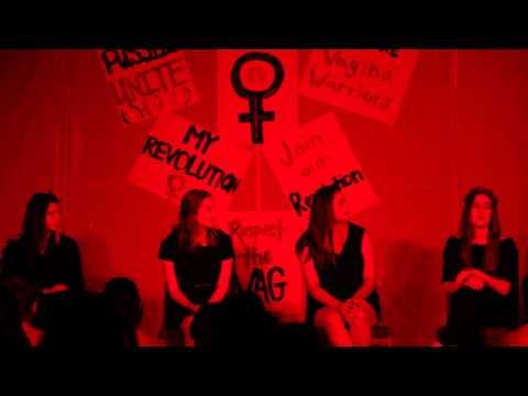 "Sonoma State Universities ""Vagina Monologues"" 2015"