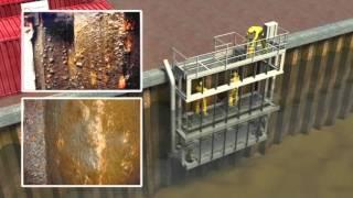 видео Подводное бетонирование
