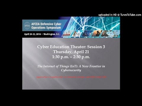 Cyber Education: The Internet of Things