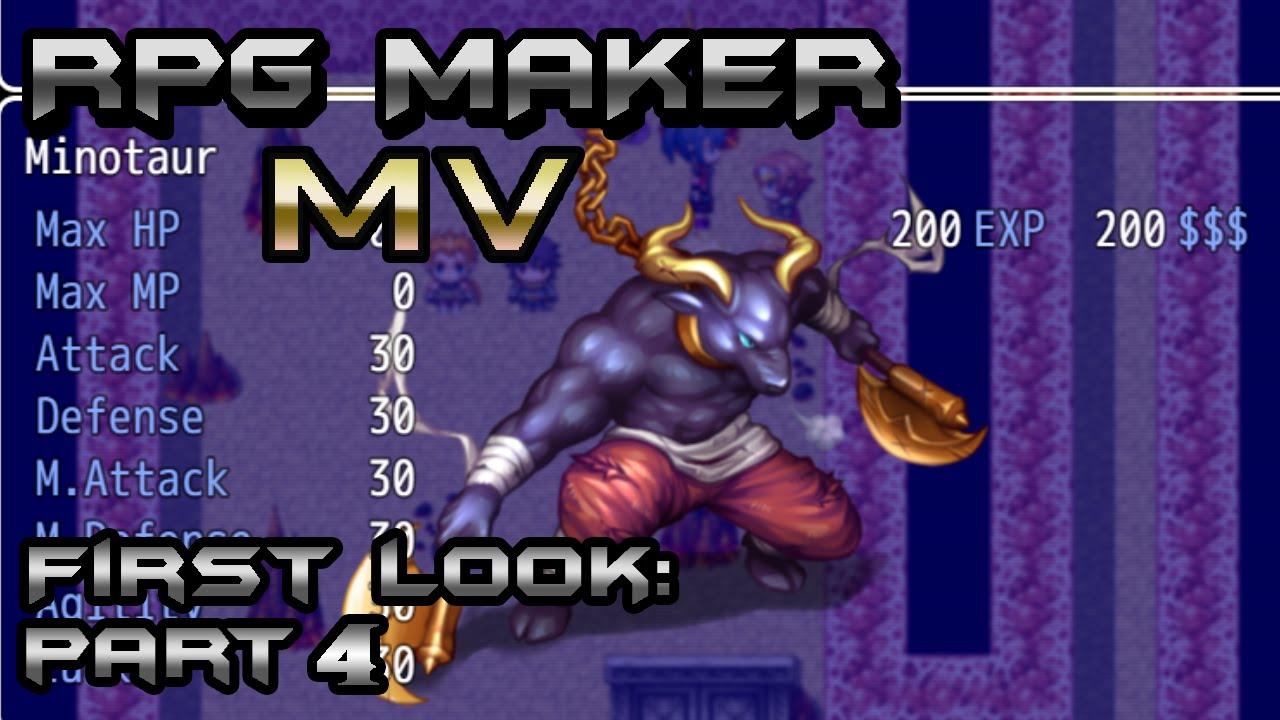 RPG Maker MV First Look 4: Default Plugins