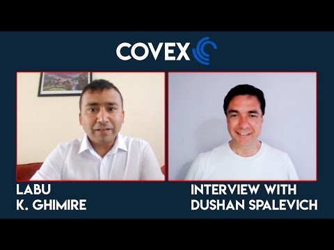 CoVEX - Co-Founder Labu K. Ghimire Interview With Dushan Spalevich for ICO TV