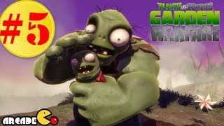 Plants Vs. Zombies: Garden Warfare Part 5 - Super Gargantuar Wave Gameplay Walkthrough