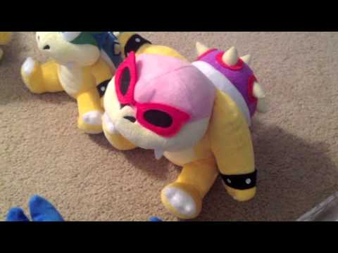 Super Plush Mario: Bowser Jr's Wish