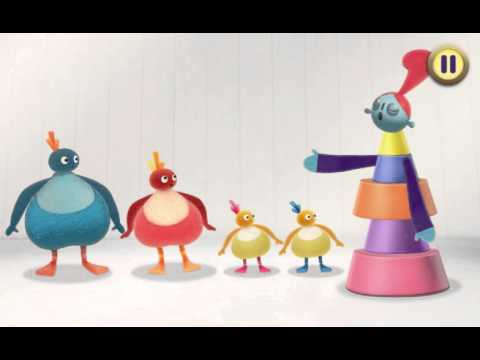 Twirlywoos: Very Important Lady game for CBeebies