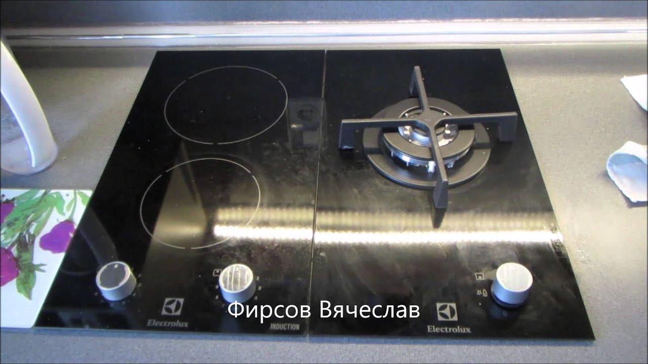 Комбинированная плита Gorenje K 65348 DW - YouTube