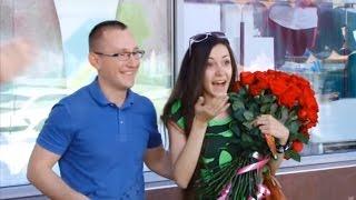 Предложение руки и сердца во время розыгрыша невеста думала что выиграла приз