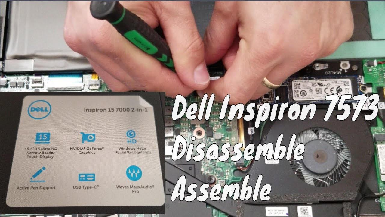 Dell Inspiron 15 7000 Series 2-in-1 7573 Touchscreen