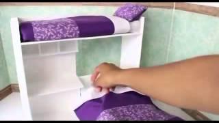 Как сделать красивую кроватку для любимой куклы(Всех приветствую на своем канале INFINITY how to make http://www.youtube.com/channel/UCxsvZi6Qna4oVRzs6LP6j4w , здесь вы узнаете, как сделать..., 2016-02-22T04:06:13.000Z)