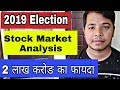 2019 Exit Poll से Stock Market में उछाल क्यू | Effect of 2019 Election on Share Market full analysis