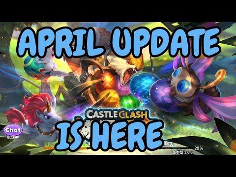 April Update Is Here L Castle Clash