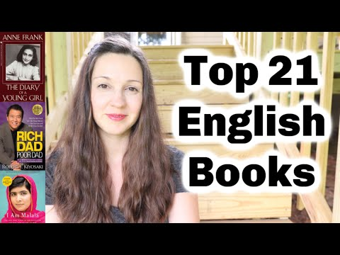 Top 21 English Book Recommendations