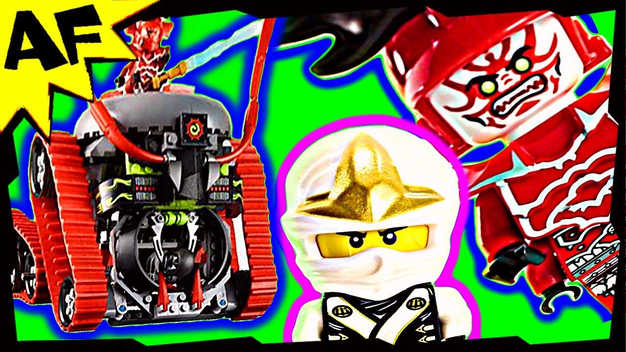 Garmadon Garmatron 70504 Lego Ninjago Stop Motion Set Review Youtube