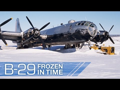 "Boeing B-29 Superfortress ""Kee Bird"" , ""Frozen in Time"" ! NOVA"
