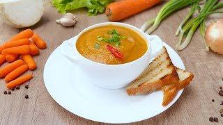 Суп-пюре из моркови - Рецепты от Со Вкусом