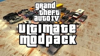 GTA IV ULTIMATE MOD PACK + CAR PACK
