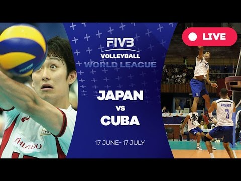 Japan v Cuba - Group 2: 2016 FIVB Volleyball World League