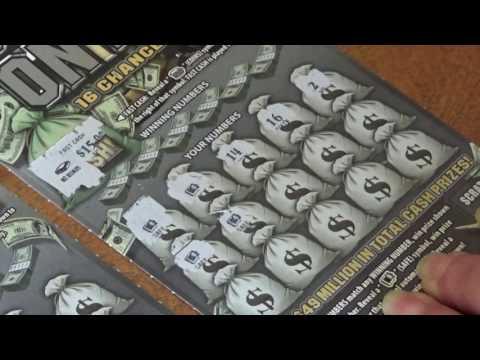 $10 Pennsylvania Lottery (Bank On It) WINNERS! BACK TO BACK!