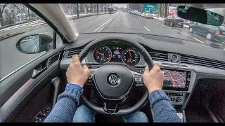 Volkswagen Passat B8   4K POV Test Drive #136 Joe Black