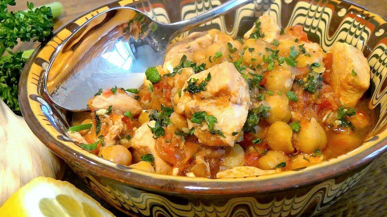 marokkanischer kichererbseneintopf / video / rezept anleitung ... - Marokkanische Küche Rezepte