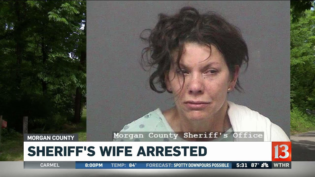 Morgan County Sheriff's Wife arrested