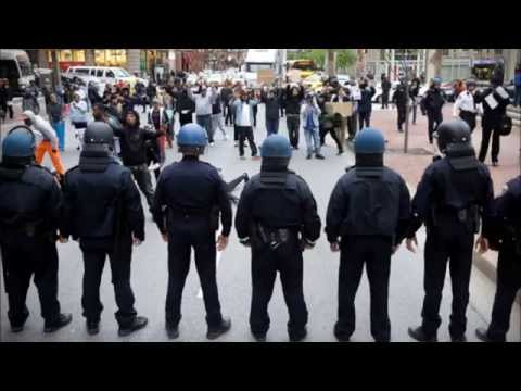 Baltimore Police radio during second round of Freddie Gray riots April 27, 2015, 4 PM til 2 AM