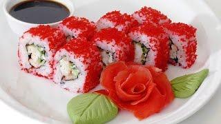 Как сделать Ролл Калифорния краб .California roll crab.(Как сделать Ролл Калифорния краб .California roll crab. Ингредиенты: 450 гр. риса (сырого), для заправки риса: 4 ч . л. кипя..., 2016-10-17T05:42:46.000Z)