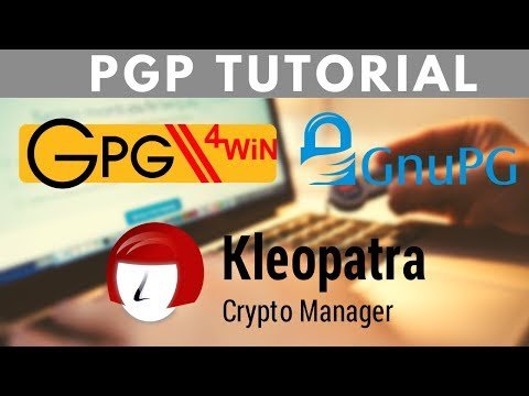 The Complete PGP Encryption Tutorial | Gpg4win & GnuPG