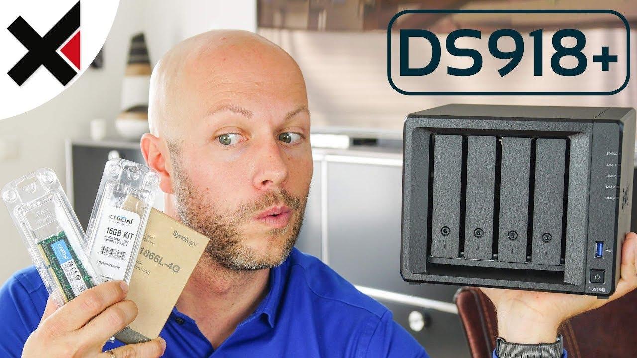 Synology DiskStation DS918+ RAM Upgrade 8, 12, 16 GB | iDomiX