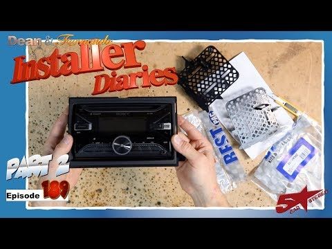 Next A Sony Car Radio And Pac Audio Dash Kit Ford Fusion Installer Diaries 189 Part 2