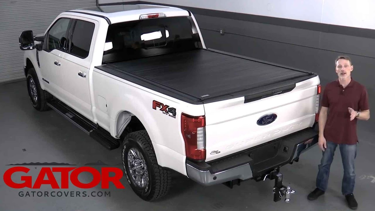 How To Install Gator Recoil Retractable Tonneau Cover On Ford F 350 Youtube