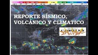 Reporte Sísmico, Volcánico y Climático: NGE Anima Onda Tropícal #6 - Popocatépetl | 23 Junio 2018🔴