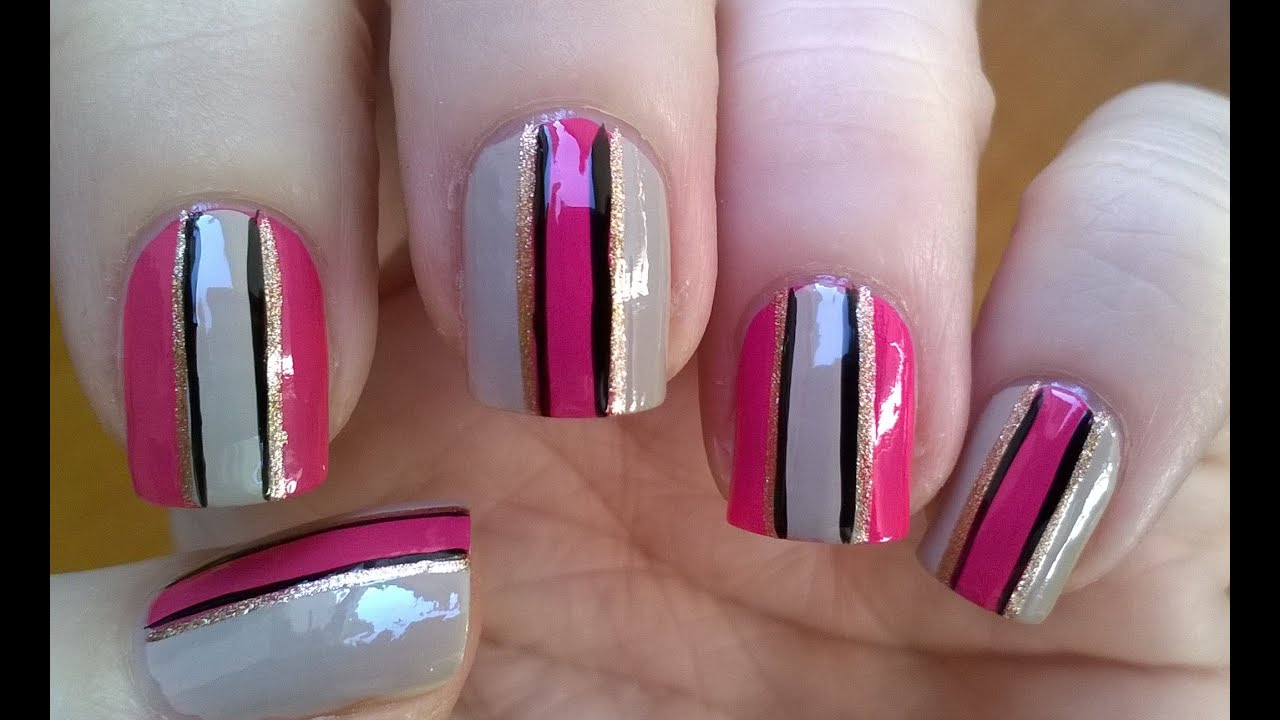 Easy Nail Designs With Tape | www.imgkid.com - The Image ...