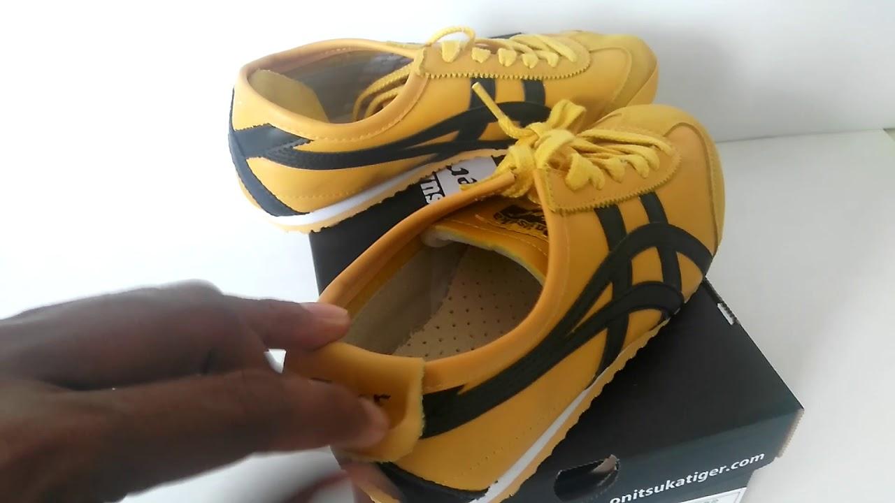 onitsuka tiger mexico 66 sd yellow black 90 youtube