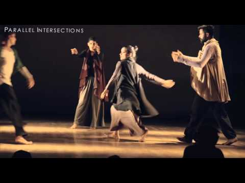 Contemporary Dance Performance 'Parallel Intersections' In Bangalore. Choreographer Sahiba Singh