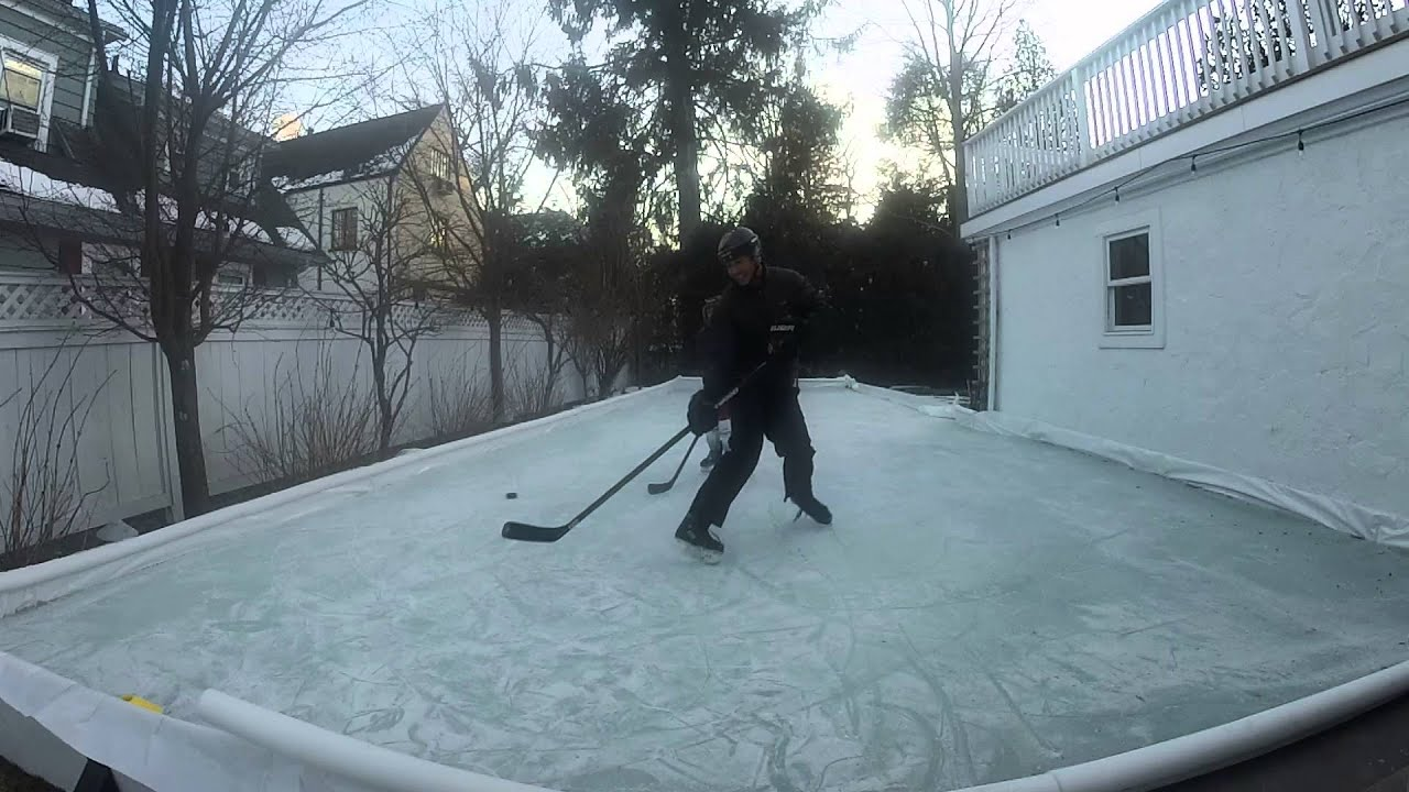 outdoor rink youtube