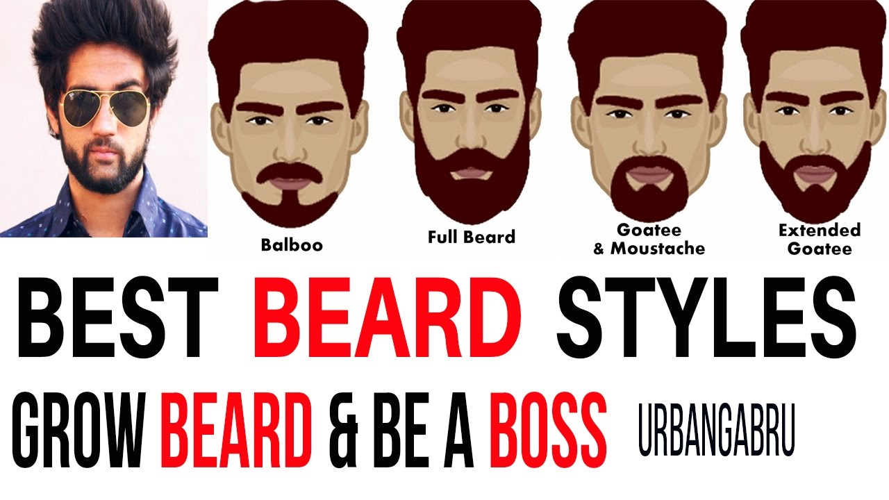 Best Facial Hair Styles Interesting Best Beard Styles  Facial Hair Styles  Grow Beard  Youtube