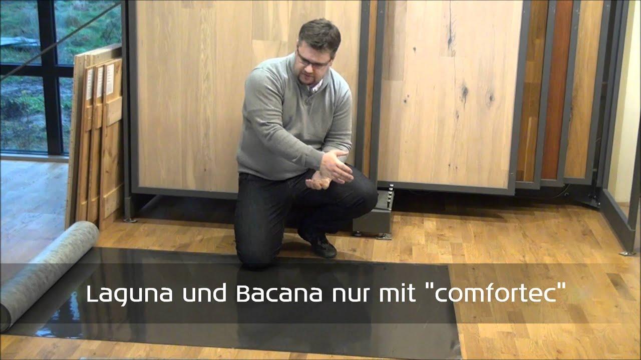 wineo silent comfort trittschall youtube. Black Bedroom Furniture Sets. Home Design Ideas