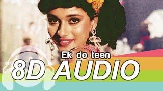 Ek Do Teen 8D Audio Song - Tezaab   Madhuri Dixit (HQ)🎧