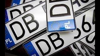 Авто на европейской регистрации | Ситуация на июль 2017