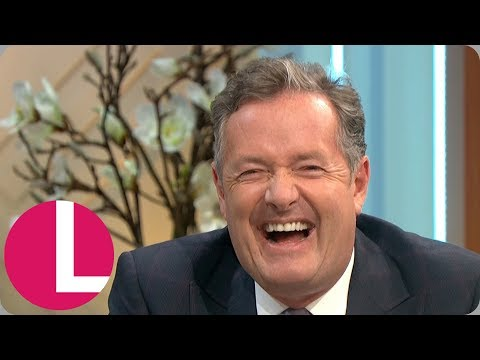 Piers Morgan Hates the Idea of His Wife Having Plastic Surgery | Lorraine