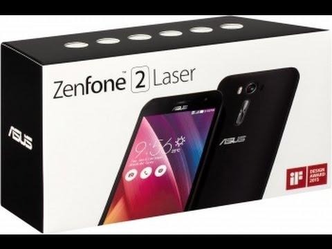 Обзор Asus Zenfone 2 Laser - ZE500KG - YouTube