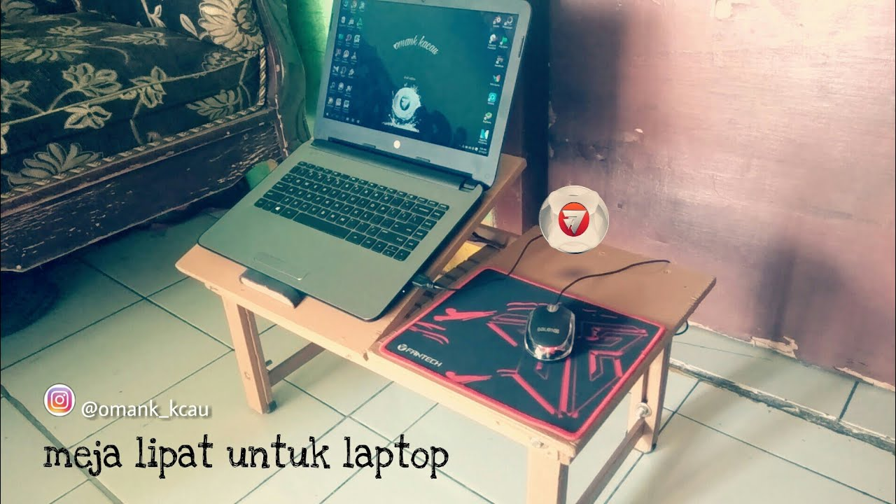 Bolt And Washer >> How to make a folding laptop table - YouTube