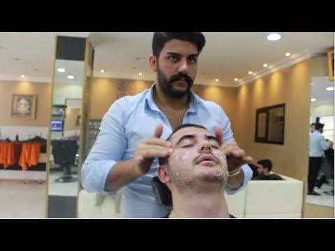 ASMR Turkish Barber Face,Head and Body Massage 106 (17 Mins)