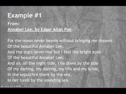 Examples of Rhyme in Poetry