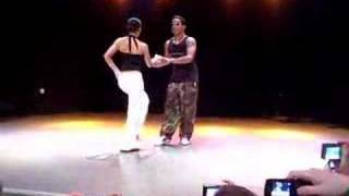 Yanek Revilla y Diana - salsa class