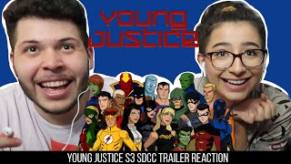 YOUNG JUSTICE: OUTSIDERS - Official SDCC Trailer Reaction!!