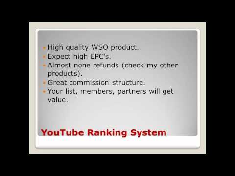 Ranking System - JV Info
